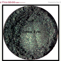 50% OFF FALL SALE Mineral Makeup Eyeshadow Eyeliner Zombie Eyes Duo Chrome w/ Glitter
