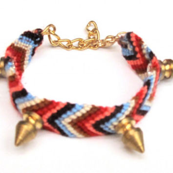 Spiked Friendship Bracelet