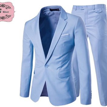 Men's Casual Two and Three Piece Business Suits