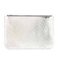 mytheresa.com -  Metallic leather clutch  - Luxury Fashion for Women / Designer clothing, shoes, bags