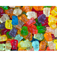 Cubs 12-Flavors Baby Gummy Bears Candy: 5LB Bag | CandyWarehouse.com Online Candy Store
