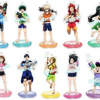 Boku No Hero Academia Takara Tomy Arts Water Gun Acrylic Stands INDIVIDUALS