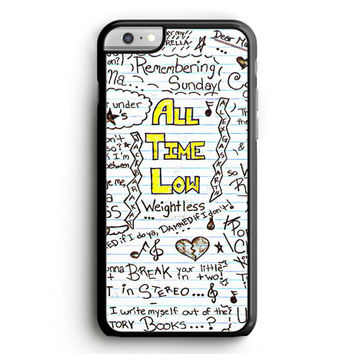 All Time Low Collage iPhone 6S Case | Aneend