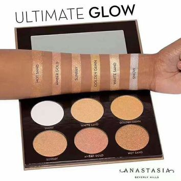 Anastasia Glow Kit Ultimate 6 Colors Makeup [11891734607]