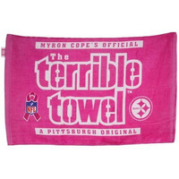 NFL Pittsburgh Steelers Breast Cancer Awareness Pink Terrible Towel