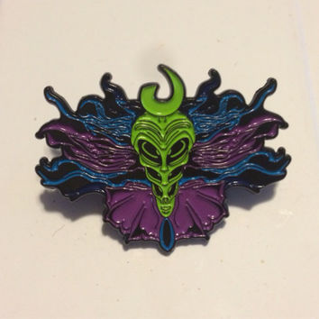 Shpongle inspired extraterrestrial pin