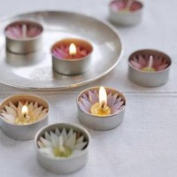 Lotus Tea Lights ? Cox & Cox, the difference between house and home.