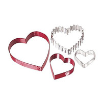 Valentine From The Heart Assorted Nesting Cookie Cutter Set