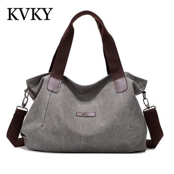 Brand Women Bag 2017 Famous Designer Women Handbags High Quality Canvas Shoulder Bag Casual Hobo Tote Bags Bolsa Feminina Sacola