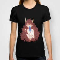 The smell of blue T-shirt by Moonsia