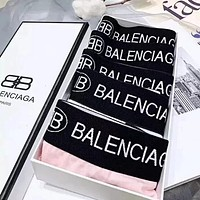 Balenciaga Trending Women Stylish Print Pure Cotton Comfortable Briefs