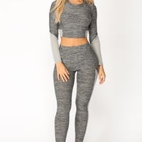 Kelly Lounge Set - Charcoal