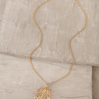 Fall For Me Gold Necklace