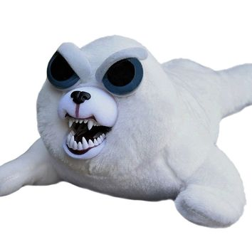 "Feisty Pets: Tony Tubbalard Adorable 12"" Plush Stuffed Harp Seal Pup"