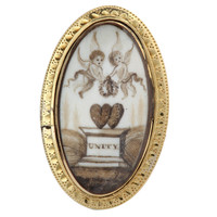 Hearts Entwined Georgian Unity Ring