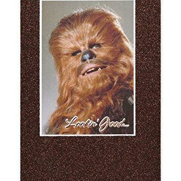 American Greetings Funny Chewbacca Star Wars Birthday Card with Glitter - Funny Birthday Cards - Free Shipping