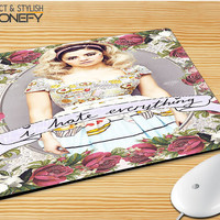 Marina And The Diamond Hate Everything Mousepad Mouse Pad|iPhonefy