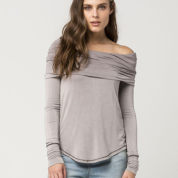 FREE PEOPLE Cosmo Cowl Womens Top | Knit Tops & Tees