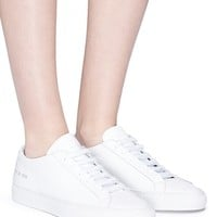 Common Projects | 'Original Achilles' leather sneakers | Women | Lane Crawford - Shop Designer Brands Online