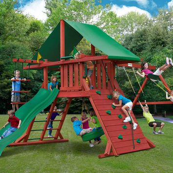 Gorilla Playsets Sun Valley I Wooden Swing Set