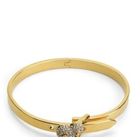 Pave Heart Hinge Bracelet by Juicy Couture, O/S