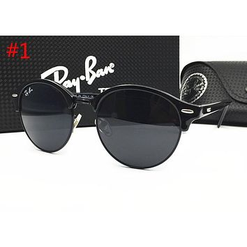 Ray Ban Popular Women Men Delicate Summer Sun Shades Eyeglasses Glasses Sunglasses #1 Black I-MYJ-YF