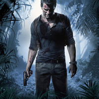 Uncharted 4: A Thief's End Nathan Drake video game poster