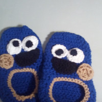 cookie monster slippers