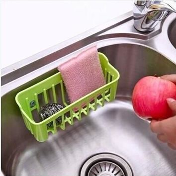 [flash Kitchen Tools and Gadgets Candy Color Filtered Water Basket Storage Box for Dish Towel/Cloth Cleaning Ball = 5988010369
