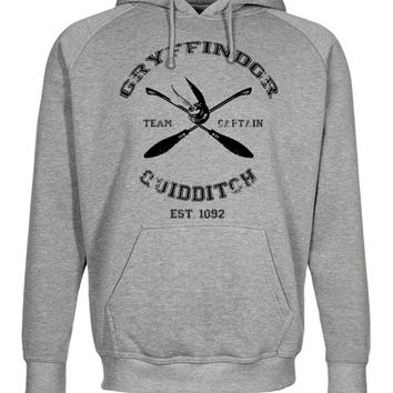 Harry Potter inspired Gryffindor Quidditch Hoodie