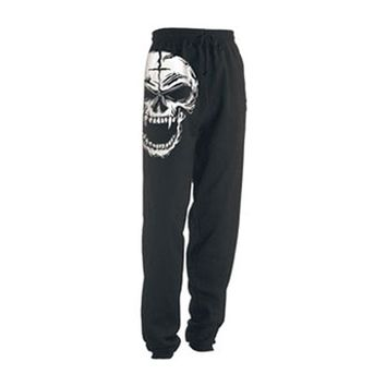 Dr. Acula  Nation Sweatpants Black Rockabilia