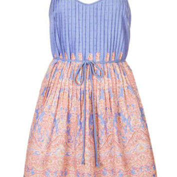 **PAISLEY PRINT SUNDRESS BY KATE MOSS FOR TOPSHOP