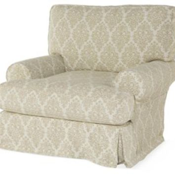 Comfy Swivel Club Chair, Natural, Club Chairs