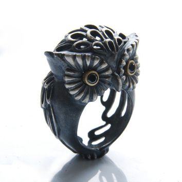 Owl (Puhu) Ring