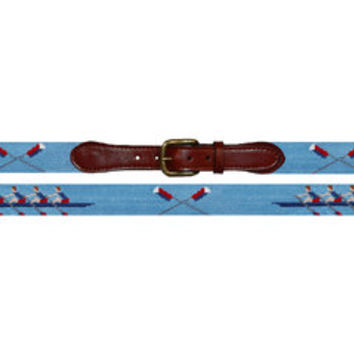 Rowing Needlepoint Belt | Smathers & Branson