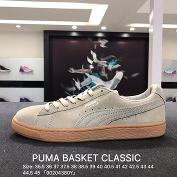 Puma Suede Classic Basket Navy Casual Shoes Sneaker - 362551-02