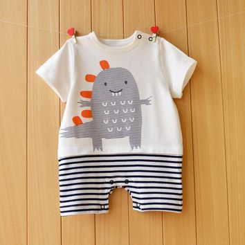 Summer style baby romper one piece 100% cotton lovely baby clothes Jumpsuits Roupas De Bebe Infantil Baby clothing