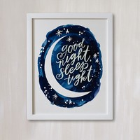 Midnight Wall Art by Minted®
