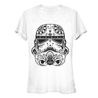 Star Wars Women's - Ornate Stormtrooper T-Shirt