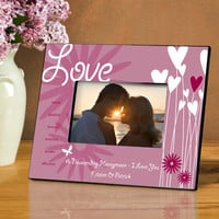 Personalized Heartthrob Picture Frame