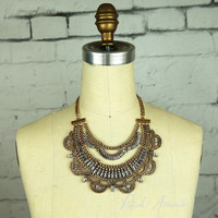 Tons of Boho Tribal Necklace (Gold)