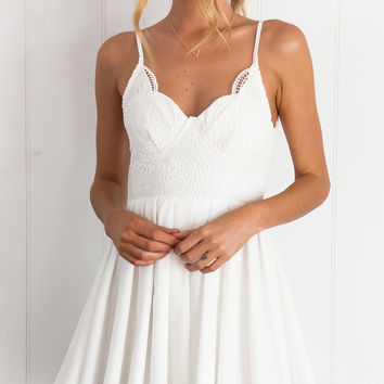 AUBADE DRESS (WHITE)