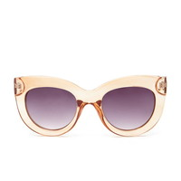 Tortoise Cat Eye Sunglasses | Forever 21 - 1000223407