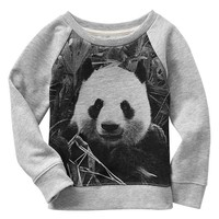 Panda Photo Real Sweatshirt