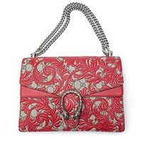 Gucci Dionysus Red Lace Signature Arabesque Med Shoulder Bag Handbag Italy New