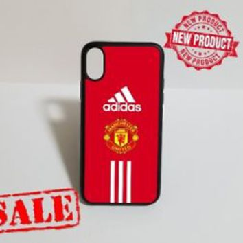 New Adidas.01 Manchester United Case For iPhone 6 6s 6+ 6s+ 7 7+ 8 8+ Cover