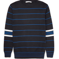 Givenchy - Striped Knitted Cotton Sweater