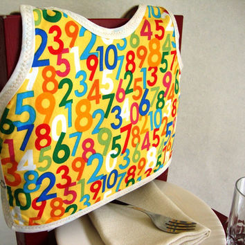 Know Your Number baby bib by maddywear