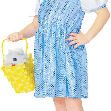 girl's costume: wizard of oz lil' dorothy | medium