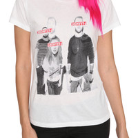 Paramore Red Bars Girls T-Shirt | Hot Topic